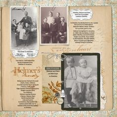 """My father-in-law immigrated to America from Sweden in 1920. The photos on this page are his parents with his siblings. I worked very hard to get make sure I identified all the people in the photos correctly. <br />  new this week<br /> <span style=""""font-weight:bold""""><span style=""""text-decoration:underline""""><a rel=""""nofollow"""" href=""""http://www.designerdigitals.com/digital-scrapbooking/supplies/product_info.php/products_id/13965"""" target=""""_blank"""" class=""""bb-url"""">Clipped Singles No…"""