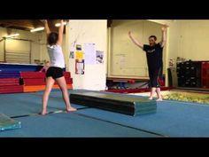 Floor drills: Cartwheel, beginner - YouTube