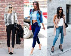 TPM Básica: Looks com calça Skinny