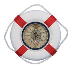 Decorative Lifering 12'' Clock with Bands