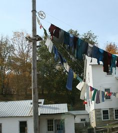 Amish Clothes Lines ~ Sarah's Country Kitchen ~