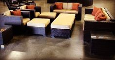 Nine piece outdoor patio set late arrival, but just in time for the auction.