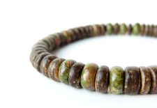 Camo, a mens bracelet for ethical hunters by Jenny Hoople of Authentic Arts