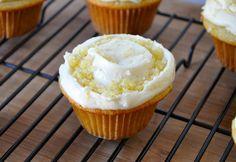 Lemony Lemon Cupcakes with Orange Sugar. Yes, all your lemon is belong to us.