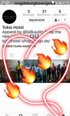 Follow magdeburglosangeles profile on Instagram SOURCE: Bill Kaulitz Instagram