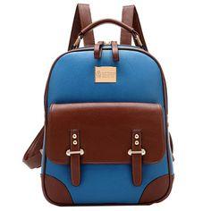 Amazon.com: Retro Girl's Student School Bag Traveling Outdoor Shoulders Bag Knapsack Backpack (3554Black): Sports & Outdoors
