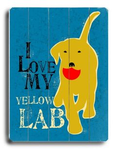 Yellow lab ♥ @Maleah Oliver Dunham