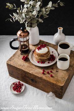 Low Carb Pancakes, Low Carb Bread, Low Carb Breakfast, Low Carb Keto, Low Carb Recipes, Breakfast Ideas, Paleo Recipes, Keto Bread, Breakfast Recipes