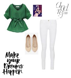 """""""a sprinkle of spring"""" by sydneya003-1 on Polyvore featuring Frame Denim, Express, Coleman, women's clothing, women's fashion, women, female, woman, misses and juniors"""