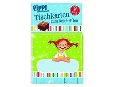 Pippi Langstrumpf Tischkarten für eine perfekte Pippi Langstrumpf Party (Pippi Longstocking Party)