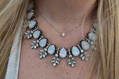 BaubleBar Opal Necklace