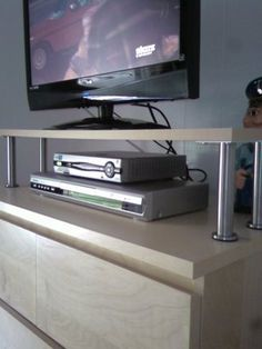 IKEA Hackers: An easy to DIY TV stand