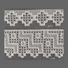 sabana filet crochet edging pattern