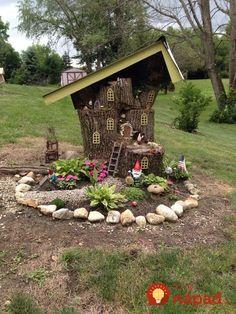 21 rozprávkových inšpirácií na záhradné dekorácie, ktoré váš domov premenia na čarovné miesto!