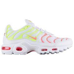 buy popular c32c4 f0019 202.05   Nike Air Max Plus Women s White Hot Punch Volt Total