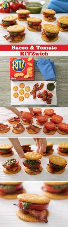 Sure, the kids in your neighborhood can be picky eaters. Easy Snacks, Yummy Snacks, Healthy Snacks, Yummy Food, Yummy Appetizers, Appetizer Recipes, Blt Recipes, I Love Food, Good Food