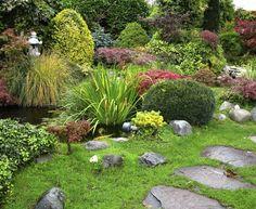 small asian garden shade structures - Google Search
