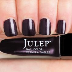 Logan - Classic with a Twist - Julep - Sultry aubergine shimmer