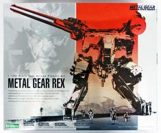 Metal Gear REX (Plastic model) - HobbySearch Gundam Kit/etc. Metal Gear Rex, Plastic Model Kits, Plastic Models, Metal Gear Solid Quiet, Snake Art, Gear Art, The Fox And The Hound, Mechanical Design, Japanese Artists