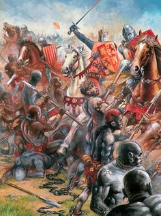 The Battle of Las Navas de Tolosa, known in Arab history as the Battle of Al-Uqab took place on 16 July 1212 and was an important turning point in the Reconquista and in the medieval history of Spain. The battle resulted in decisive Christian victory - Saracens were driven out from the Western Europe. Almohads failre significantly quickened their fall on the Iberian Peninsula as well as in Maghreb. Here, on the picture, Alfonso VIII, the King of Castile, leader of the Christian army.