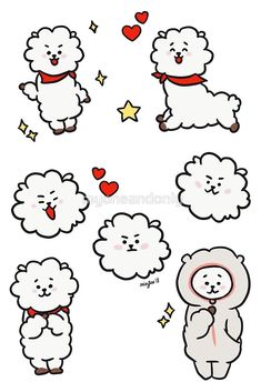 'RJ' by myoneandonly Bts Chibi, Tumblr Stickers, Cute Stickers, Bts Christmas, Bts Big Hit, Journal Stickers, Bts Drawings, Bts Lockscreen, Bts Fans