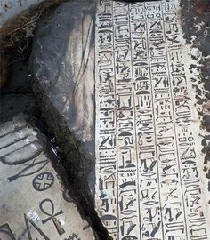 The Minister of Antiquities in Egypt has announced the discovery of a temple of Pharaoh Thutmose III near Cairo. Found beneath a house, submerged under groundwater, by a group of looters who used diving equipment to explore the nine-meter deep ruins. Seven tablets, two blocks covered in hieroglyphics, several column bases and a huge statue of a seated person made of pink granite have been unearthed so far. The items have been taken to Saqqara for restoration and further study.