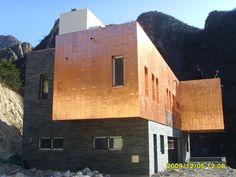 Copper exterior