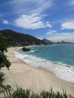 Praia do Vidigal, Rio de Janeiro, Brazil
