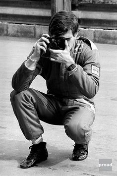 Veja os registros da carreira de Ayrton Senna pelo fotógrafo Keith Sutton.