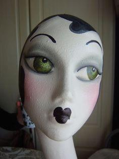 Another Art Deco Mannequin Head