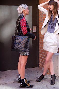 New York Fashion Week: Spring 2014  #NYFW #StreetStyle
