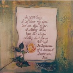 This work is similar to my past It is called Once again it was inspired by a and includes a It is still us for Yellow Roses, Love Songs, Art For Sale, Art Work, Art Gallery, My Arts, Post Card, Photo And Video, Inspired