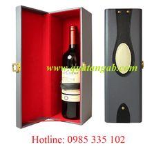 Hộp rượu gỗ, hộp rượu da đựng rượu vang | Tổng hợp | Tructiep.vn