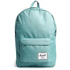 Herschel Classic Backpack ($29) ❤ liked on Polyvore featuring bags, backpacks, blue, herschel rucksack, rucksack bag, herschel, blue bag and day pack backpack