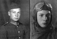 Jakub Bargielowski as a cadet in 1938.
