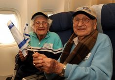 Throwback to 2011 When Oldest Couple to Make Aliyah Arrived in Israel Phillip and Dorothy Grossman, ages 95 and 93 at the time, respectively, are probably the oldest married couple ever to immigrate to Israel. The couple from Baltimore, Maryland, who have been together for 71 years, were greeted at the airport by their family and immediately taken to their new home in Jerusalem. Both have since passed away but they lived their remaining years in the place they called home, Israel.