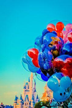 Castle & Balloons....Cinderella meets Up