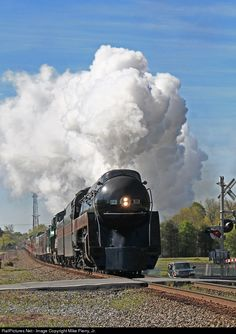 RailPictures.Net Photo: NW 611 Norfolk & Western Steam 4-8-4 at Conover, North Carolina by Mike Pierry, Jr.