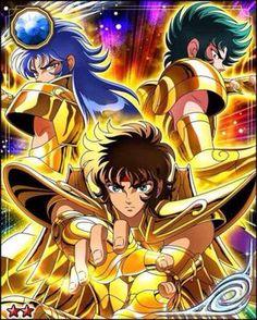 Gold Saints | Saga | Aioros | Shura