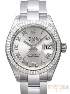Rolex Datejust 28 279174 Silber Römisch