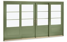 Marvin custom sliding French Doors.  Available in clad  with a flat panel option.
