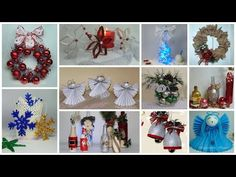 11 IDEAS de NAVIDAD 2019 Manualidades #1 - YouTube Christmas Tabletop, Diy Christmas Ornaments, Homemade Christmas, Christmas Wreaths, Christmas Decorations, Holiday Decor, Dyi Crafts, Christmas Crafts, Noel Gifts