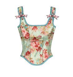 Plus Size Womens Corset Sewing Pattern,  Steampunk, Victorian, Historical  Butterick 5935 Sizes, 14, 16, 18, 20  uncut