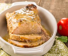 Roasted Garlic Pork Loin