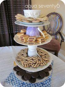Aqua Seventy6: The Vintage Dish Dessert Tower
