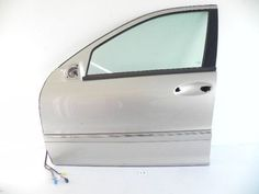 2002 MERCEDES C320 W203 FRONT LEFT DOOR SHELL DRIVER GOLD 2037200105 OEM 573 #13