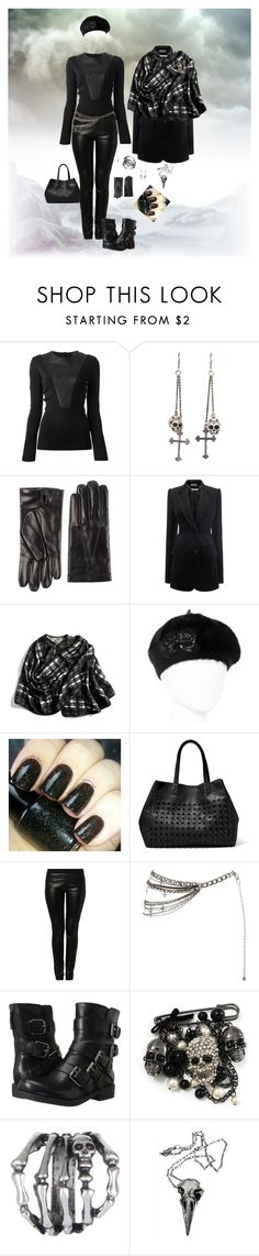 """""""Untitled #152"""" by kat-knowles ❤ liked on Polyvore featuring Gucci, King Baby Studio, Dsquared2, Alexander McQueen, Coach, Betseyville, Magic Woman, Steve Madden, Nine West and Avalaya"""