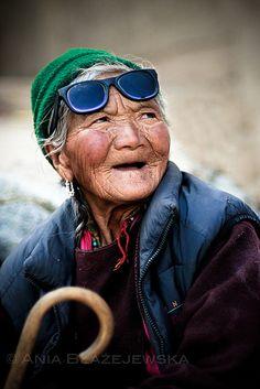 India, Ladakh. SUNGLASSES.  by Ania Blazejewska