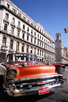 It's all about the cars . Cuba