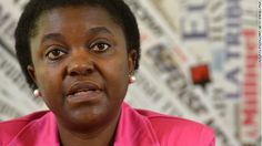 Bananas thrown at Italy's first black minister Cecile Kyenge - how can such a thing happen in a civilized country